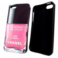 Силиконовый чехол Chanel для iPhone 5/5s (0167)