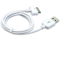 USB КАБЕЛЬ ДЛЯ IPAD 3/ IPAD 2/ IPAD/ IPHONE 4S/ 3G/ 3GS/ IPOD БЕЛЫЙ
