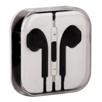 Наушники-ракушки для iPhone 5s/ iPhone 5 с регулировкой громкости черные