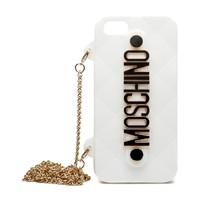 Силиконовый чехол Moschino для iPhone 5/5s (0162)