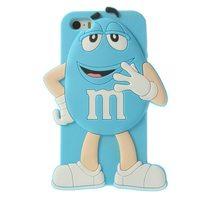 Чехол силиконовый M&Ms для iPhone 4/4s (0987)