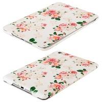 Чехол с цветами для iPad mini (0600)