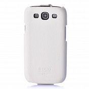 Чехол книжка Samsung S3 Hoco кожа (0394)