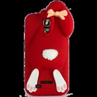 Чехол Moschino Rabbit Красный для Samsung Galaxy S4 (0492)