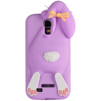 Чехол Moschino Rabbit Фиолетовый для Samsung Galaxy S4 (0491)