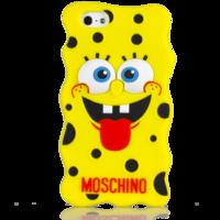 Чехол Moschino Спанч Боб Confuse для iPhone 5/5S (0726)