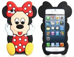 Силиконовый чехол Disney для iPhone 5/5s (0703)