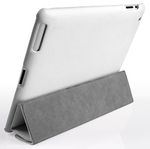 Jisoncase Smart Leather Cover чехол для iPad 3 (0548)