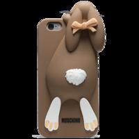 Чехол силиконовый Moschino Кролик для iPhone 6 (0908)