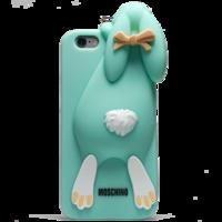 Чехол силиконовый Moschino Кролик для iPhone 6 (0910)