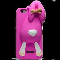 Чехол силиконовый Moschino Кролик для iPhone 6 (0911)