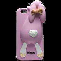 Чехол силиконовый Moschino Кролик для iPhone 6 (0912)