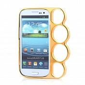Бампер-кастет пластиковый Marmoter для Samsung Galaxy S3 (0373)