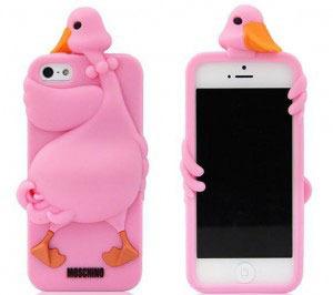 Чехол Moschino Luisa the Goose чехол для iPhone 5/5S (0216)