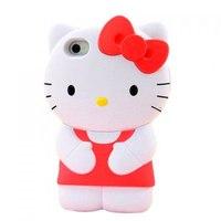Силиконовый Чехол Kitty Hello для iPhone 5/5s (0204)