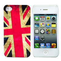"Чехол для iPhone 4/4S ""UK Flag"" (1036)"