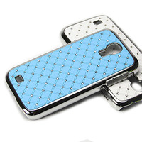 Чехол пластик со стразами для Samsung Galaxy S4(0466)