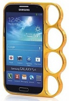Бампер-кастет пластиковый Marmoter для Samsung Galaxy S4 (0497)