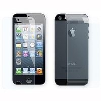 Защитные пленки на обе стороны  для iPhone 5/5S глянцевая(0285)