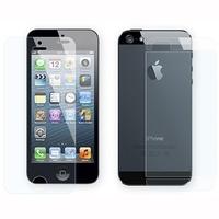 Защитная пленка 2в1 для iPhone 5/5S матовая (0284)