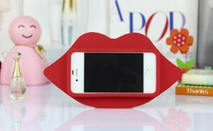 Чехол для iPhone 5/5S Силиконовые Губы  (0348)