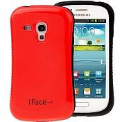 Задняя накладка пластик iface для Samsung Galaxy S3 mini (0505)