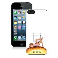 Силиконовый чехол Chanel для iPhone 5/5s (0168)