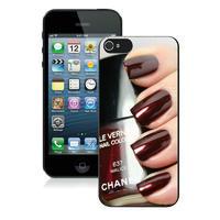 Силиконовый чехол Chanel для iPhone 5/5s (0170)