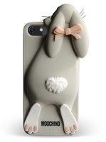 Силиконовый чехол Moschino для iPhone 5/5S (0208)