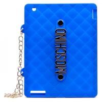 Силиконовый чехол для iPad 2/3 Moschino (0549)