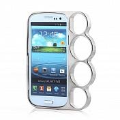 Бампер-кастет пластиковый Marmoter для Samsung Galaxy S3 (0372)