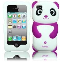 Силиконовый чехол для iPhone 4/4S Panda (1049)