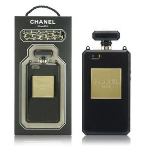 Силиконовый чехол для iPhone 6 CHANEL Perfume Bottle  (0936)