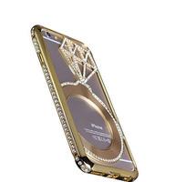 Бампер для iPhone 6 Starry Черный (0991)