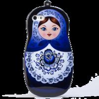 Силиконовый чехол Chanel для iPhone 5/5s (0174)
