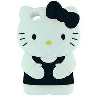 Силиконовый Чехол Kitty Hello для iPhone 5/5s (0209)