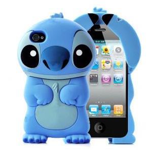Силиконовый чехол для iPhone 4/4S Stitch (1050)