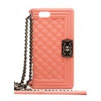Силиконовый чехол Chanel для iPhone 5/5s (0161)