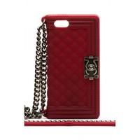 Силиконовый чехол Chanel для iPhone 5/5s (0745)