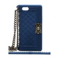Силиконовый чехол Chanel для iPhone 5/5s (0732)