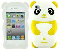 Силиконовый чехол для iPhone 4/4S Panda (1047)