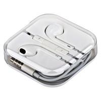 Наушники-капельки для iPad / iPhone / iPod с регулировкой громкости (0973)
