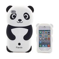 Силиконовый чехол для iPhone 4/4S Панда (1046)