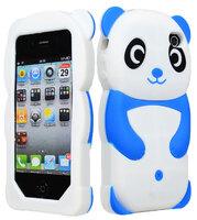 Силиконовый чехол для iPhone 4/4S Panda (1048)