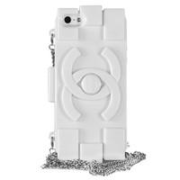 Силиконовый чехол Chanel для iPhone 5/5s (0165)
