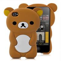 Силиконовый чехол для iPhone 4/4S Teddy (1045)