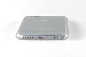 Силиконовый чехол Lims для iPhone 6 прозрачный (0941)